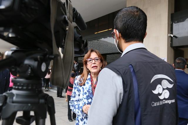 27/08/2021 Entrevista Canal Del Congreso Diputada Yeidckol Polevnsky