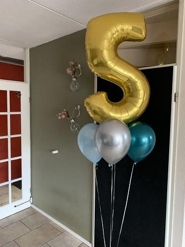 Ballonboeket Verjaardag 5 Jaar