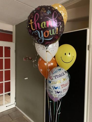 Ballonboeket Bedankt