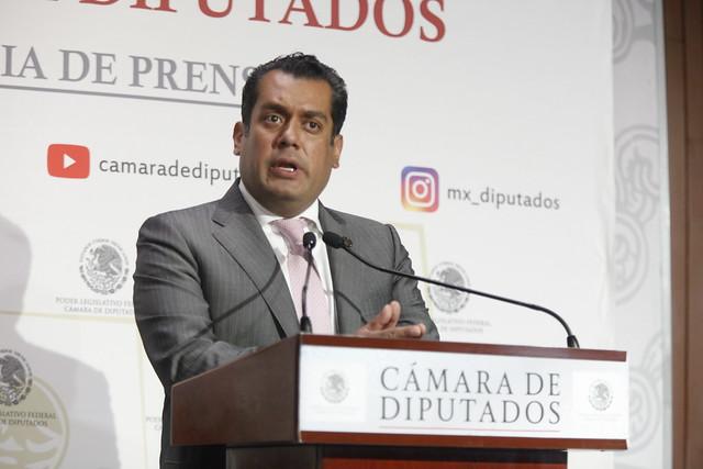 29/08/2021 Conferencia Prensa Presidente Mesa Directiva Diputados Sergio Gutiérrez Luna