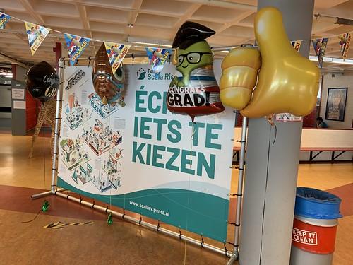 Folieballon Geslaagd Penta College Scala Rietvelden Spijkenisse