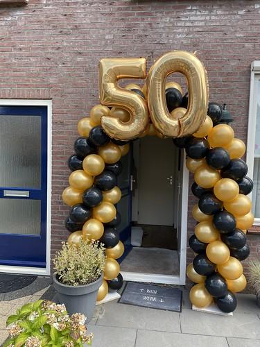 Ballonboog 5m Verjaardag 50 Jaar Abraham Sarah