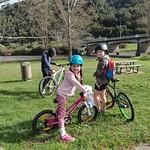 The bike rides