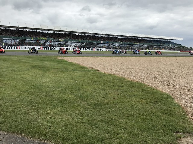 Race trackside