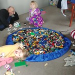 Lego building.