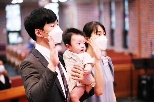 2021 유아세레(자녀 강요엘, 부 강현수전도사, 모 박세희사모 20210829)