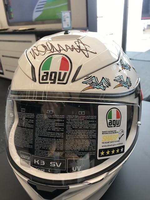 Valentino Rossi helm