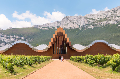 Wine and architecture meet at the heart of La Rioja