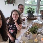 A posh family high tea on Sunday afternoon!