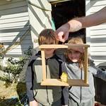 They made a bird feeder