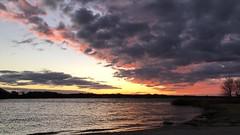 Sunset on Marine Creek lake