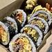 特醬牛肉飯捲, 忠武飯捲, 紅gimbap, 韓式飯卷, 台北, 台灣, Taipei, Taiwan