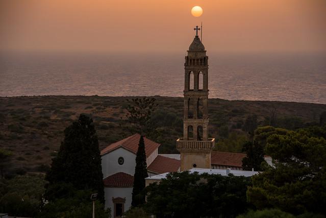 Myrtidia - hazy sunset
