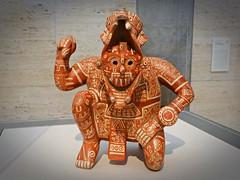 Tláloc, dios de la lluvia, procedente de