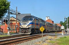 2021 08-05 1733-1 MARC MP36PH-3C-20 W/B P-877 on CSX Gaithersburg, MD