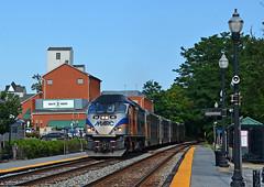 2021 08-05 1732-2 MARC MP36PH-3C-20 W/B P-877 on CSX Gaithersburg, MD