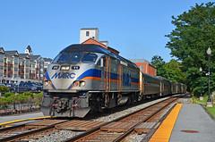 2021 08-05 1706-6 MARC MP36PH-3C-11 W/B P-875 on CSX Gaithersburg, MD