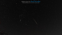 Geminids Meteor Shower 15 December 2015