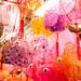 Handmade lanterns in Tai Kiu Market