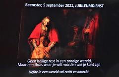 5 sept. 2021, Jubileumdienst