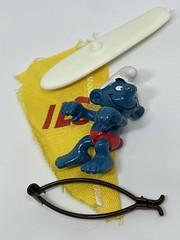 Windsurfer Smurf