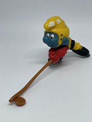 Hockey Smurf A (Gold)