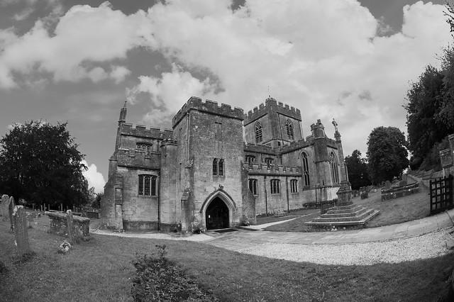 Edington Church.