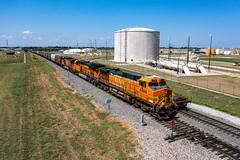 BNSF 4694 - Wylie Texas