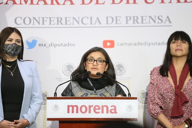 07/09/2021 Conferencia De Prensa Diputada Salma Luevano