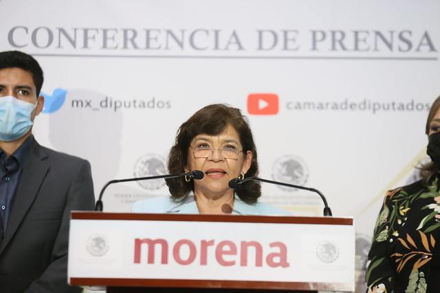 07/09/2021 Conferencia De Prensa Diputada Lidia García Anaya