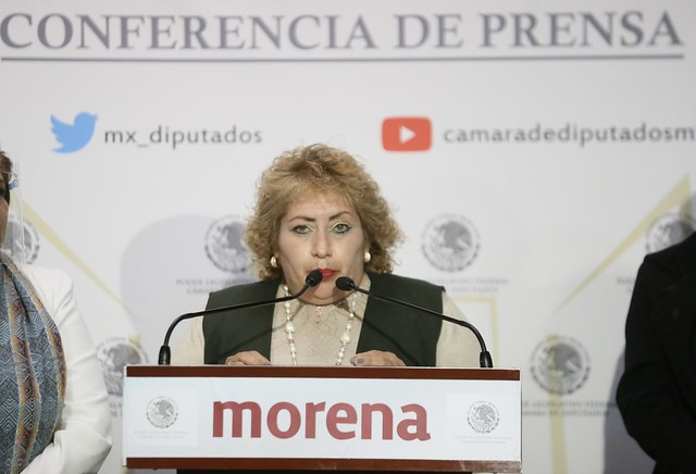 07/09/2021 Conferencia De Prensa Diputada María Eugenia Hernández