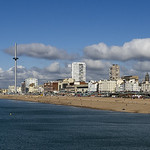 Brighton Sea Front by Peter Budd