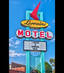 Lorraine Motel sign - Memphis, Tennessee