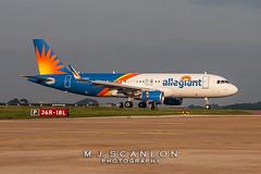 N276NV Allegiant Air | Airbus A320-214(WL) | Memphis International Airport