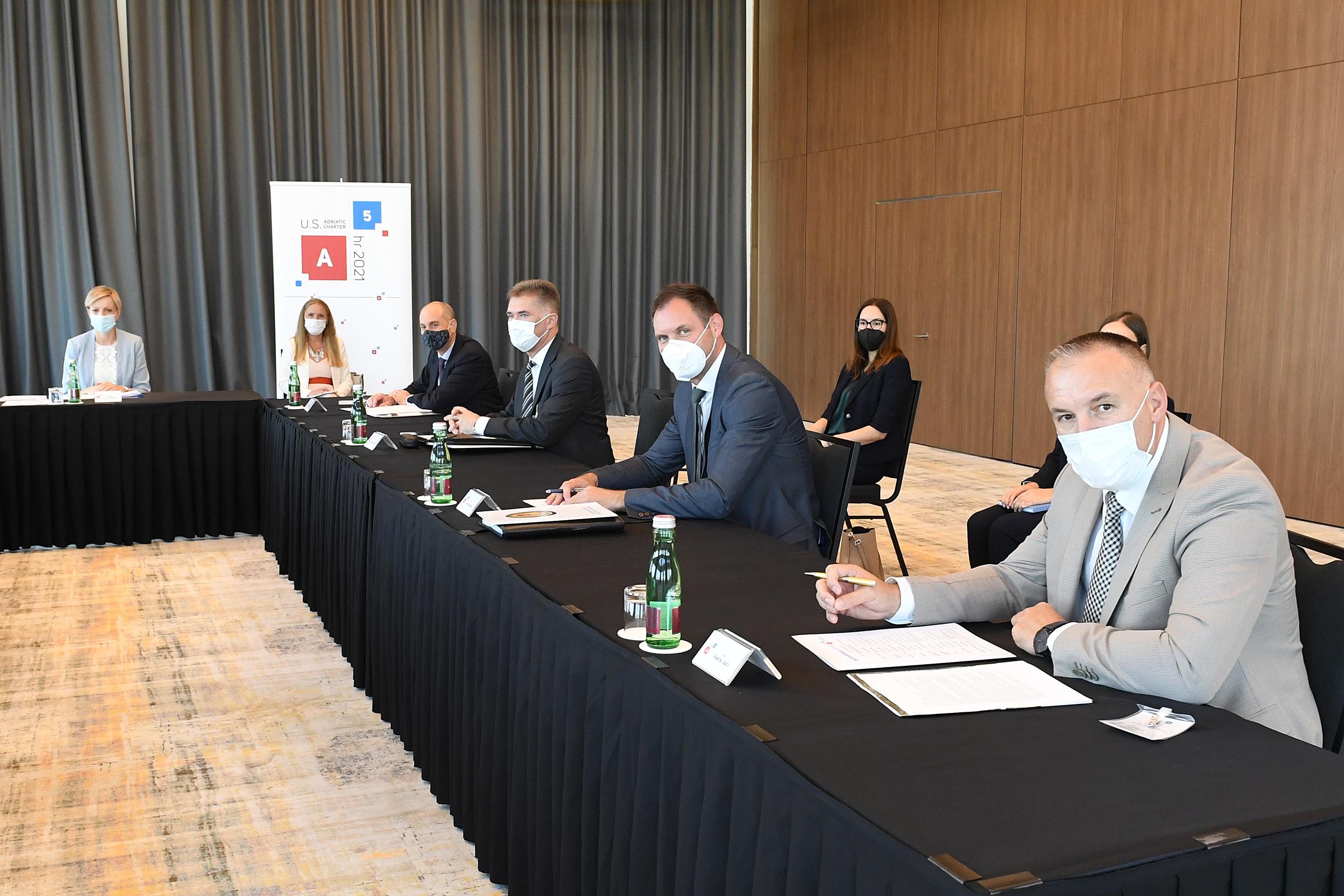 Održan drugi sastanak na visokoj razini u godini hrvatskog predsjedanja Američko-Jadranskom poveljom