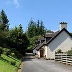 Station Cottages & Onwards to Birnam Glen by Patricia Reid