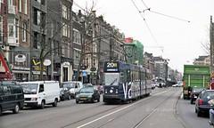 Amsterdam GVB LHB 9G trams