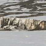 Arctic Glacial Rockscape by June Sparham