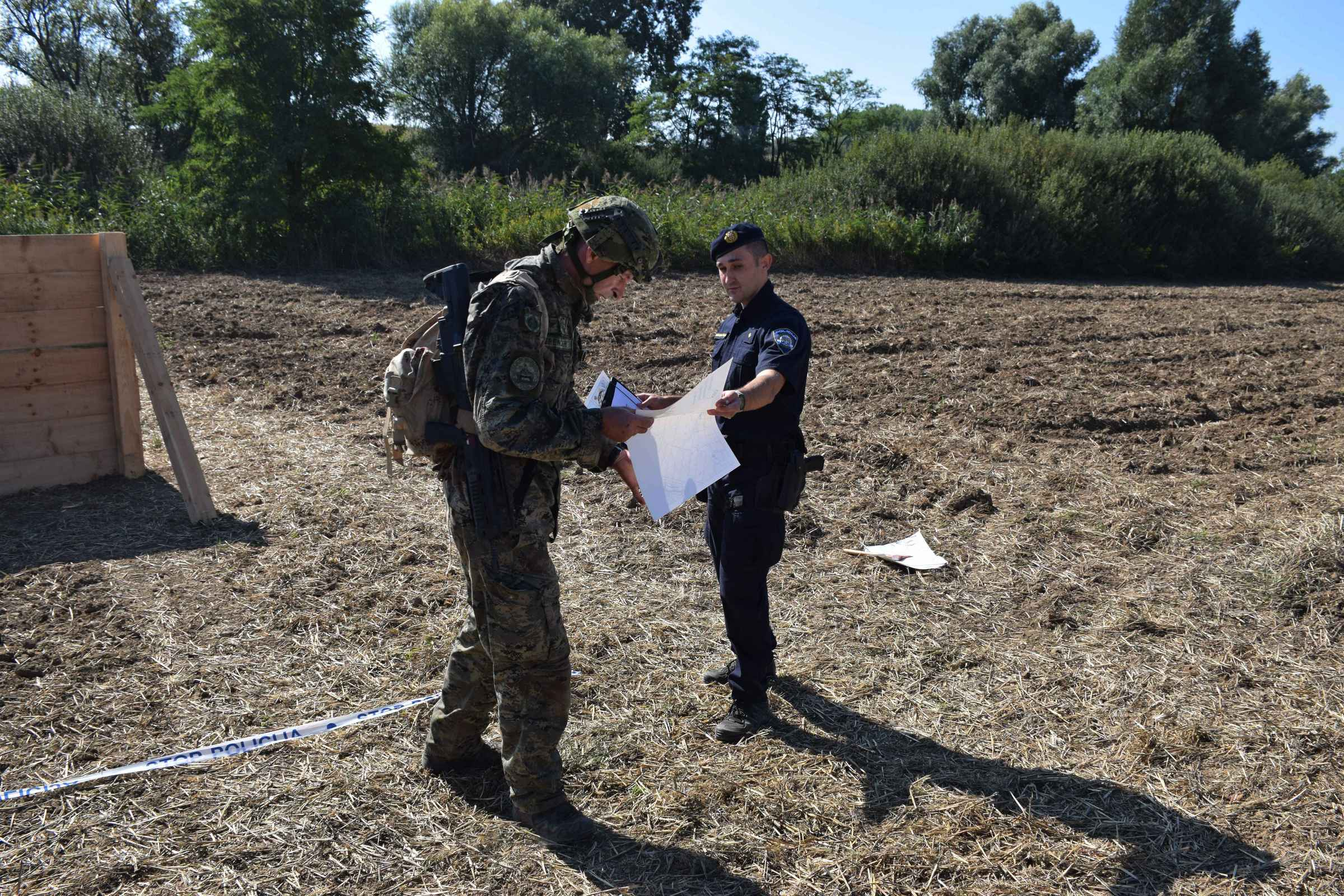 Hrvatska vojska na 3. memorijalu Šimo Đamić - Štit Domovine u Vukovaru