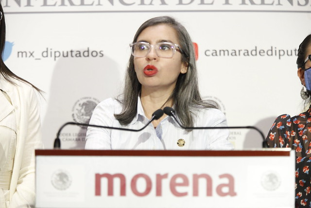 09/09/2021 Conferencia Prensa Diputada Wendy Briseño Tasa Cero Productos Higiene Menstrual