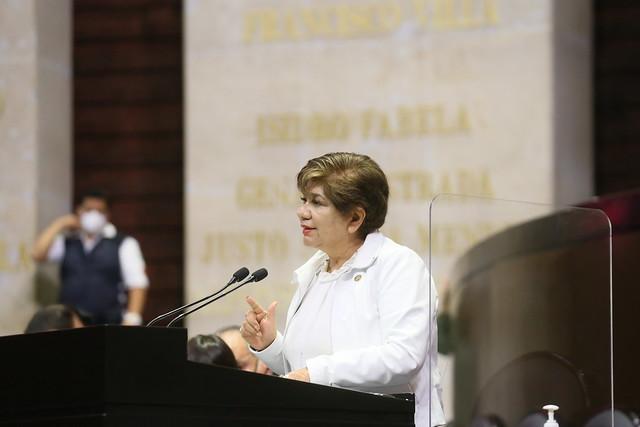 13/09/2021 Tribuna Diputada María Eugenia Hernández