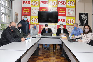Reunião de planejamento eleições 2022