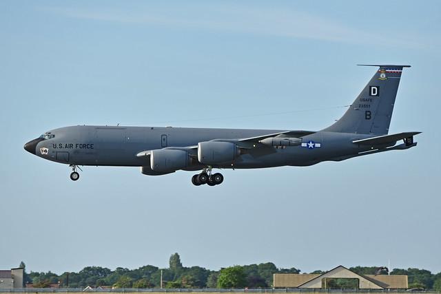"Photo:Boeing KC-135R Stratotanker '23551 / EP-B' ""Sly Fox"" (62-3551) By HawkeyeUK"