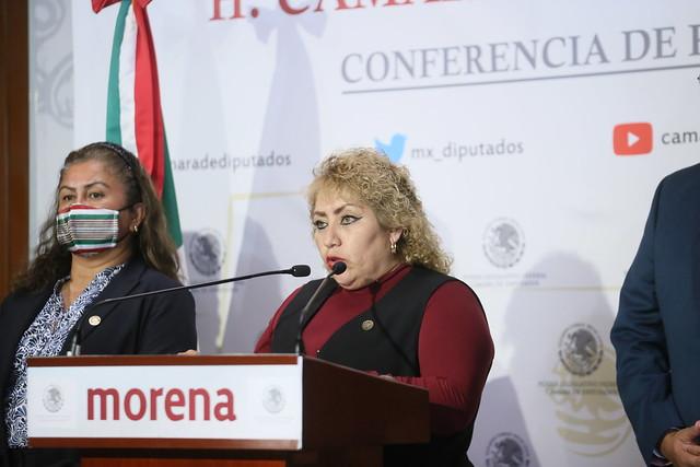 14/09/2021 Conferencia De Prensa Diputada Guadalupe Román