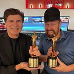 Jhani Kaye and Shotgun Tom win National Telly Award