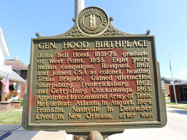 Photo:General Hood Birthplace Historic Marker By jimmywayne