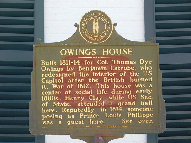 Photo:Owings House Historic Marker By jimmywayne