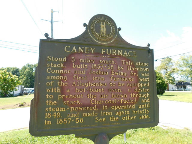 Photo:Caney Furnace Historic Marker By jimmywayne