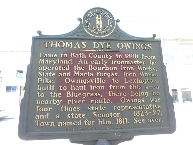 Photo:Thomas Dye Owings Historic Marker By jimmywayne