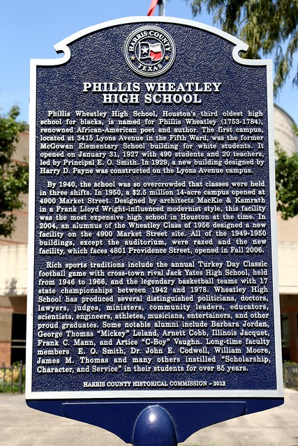 Photo:PhillisWheatleyHighSchoolMarker By 2C2KPhotography